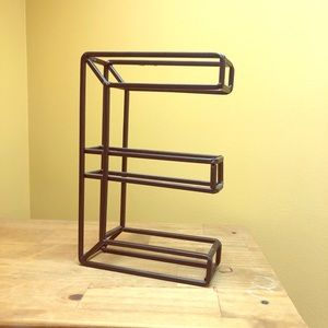 """Other - Monogram """"E"""" Hanging Decor OR Jewelry Stand"""